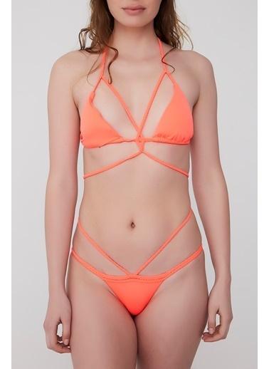 Plumeria Swimwear Üçgen Bikini Kırmızı